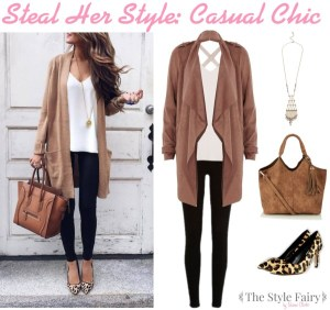 Steal Her Style: Casual Chic