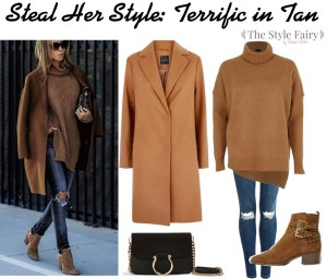 Steal Her Style: Terrific in Tan