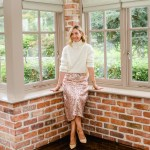 How To Wear... The Sequins Skirt