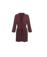 Miss Selfridge Burgundy Belted Duster Jacket, £49