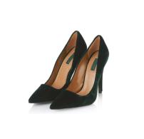 Topshop Velvet Court Shoes