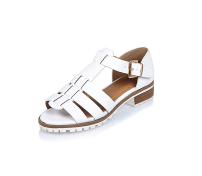 River Island White Strappy Open-Toe Shoes