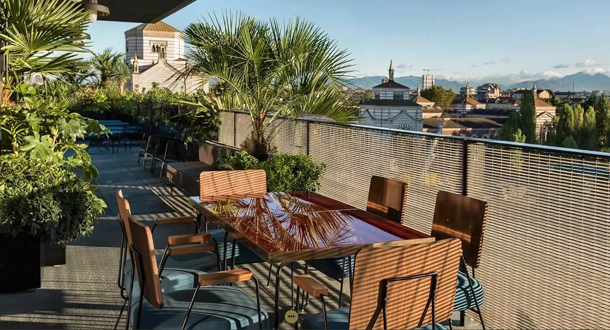 A cena da Ceresio 7 Milano terrazza vista montagne - thestylelovers ...