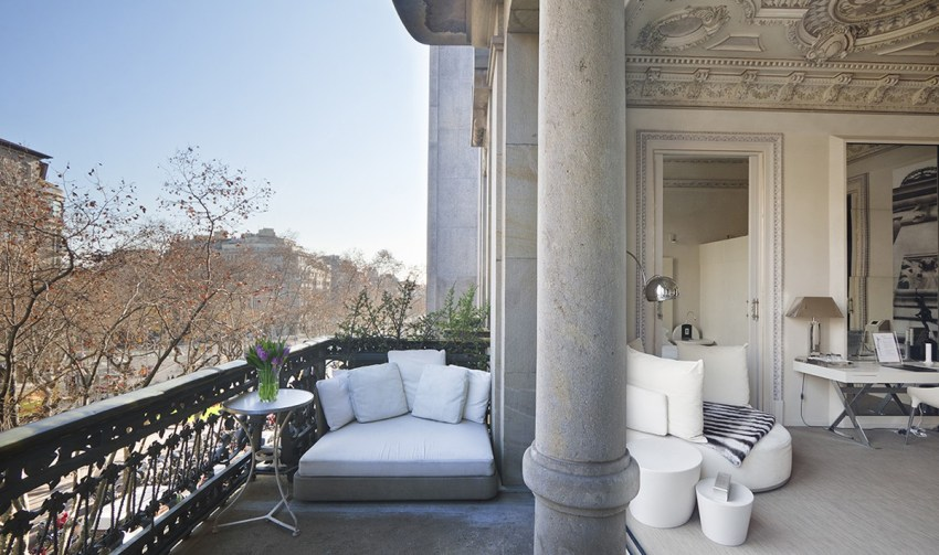 Boutique hotel di lusso a Barcellona - El Palauet suite paseo gracia - thestylelovers.com