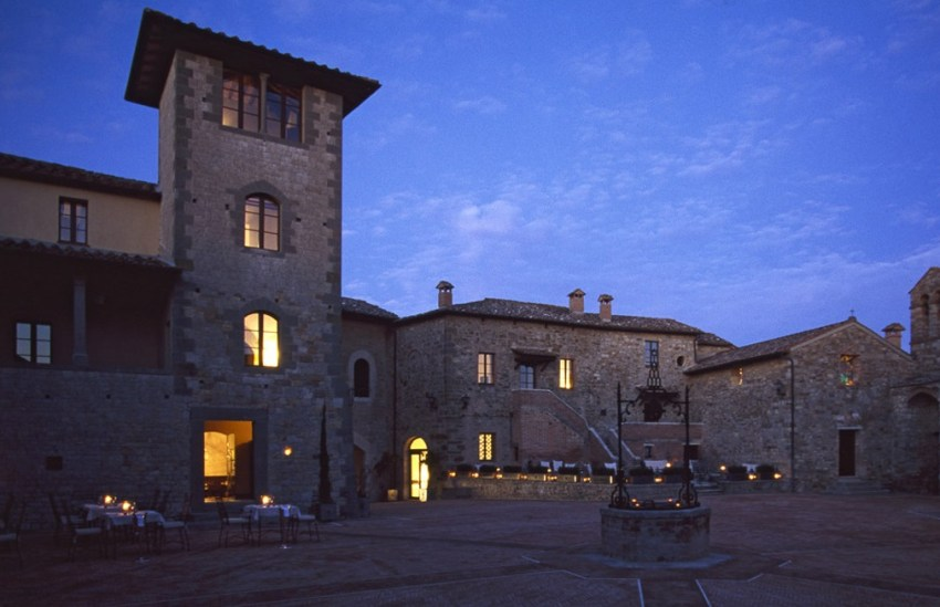Castel Monastero - thestylelovers.com