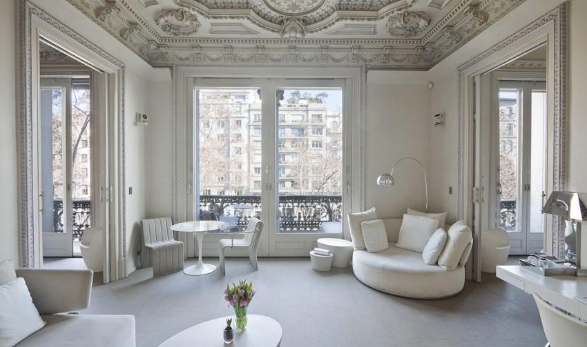 Luxury boutique hotel Barcelona - El Palauet suite paseo gracia - thestylelovers.com