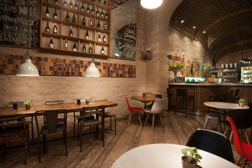 Luxury boutique hotel Barcelona - Mercer Hotel Barcelona Le Bouchon Tapas Bar - thestylelovers.com