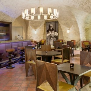 Praga Augustine hotel st thomas brewery bar - The Style Lovers