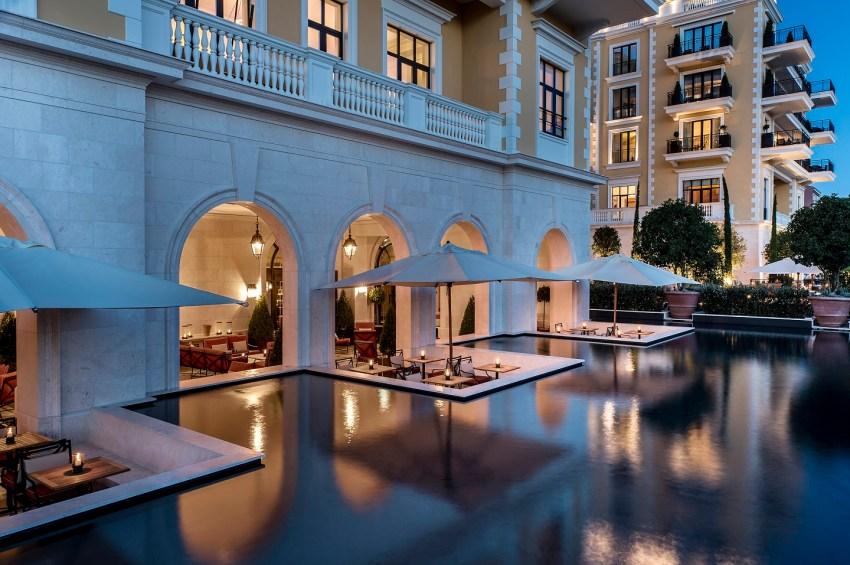 Montenegro la nuova meta del lusso. Regent Montenegro giardino d'acqua - The Style Lovers
