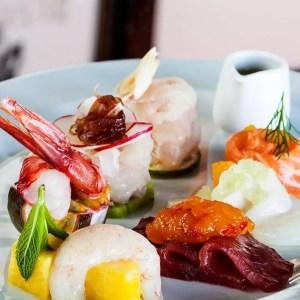 Ristorante Ceresio 7 Milano chef Elio Sironi fish menu - thestylelovers.com