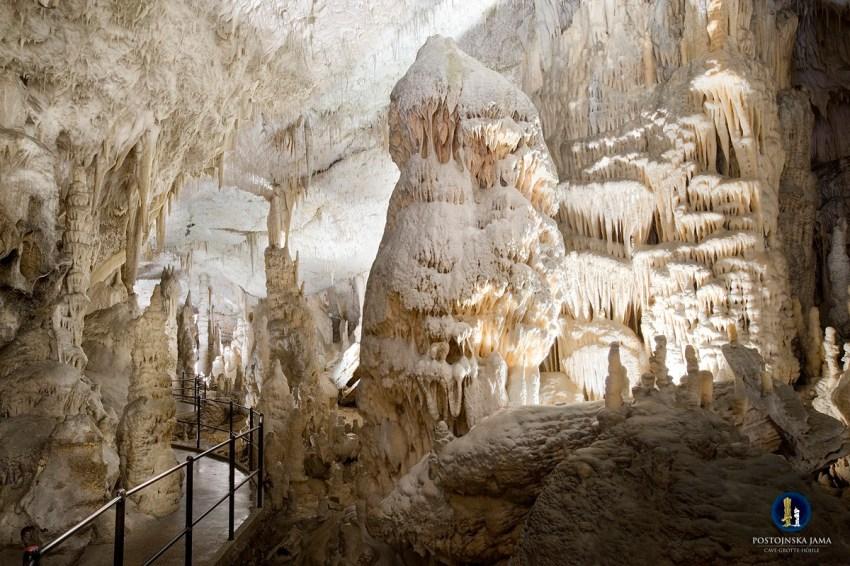 Visita alle Grotte di Postumia sala bianca - thestylelovers.com
