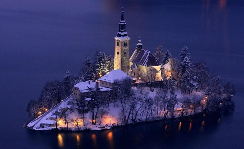 Visitare il lago di Bled - santuario isolotto - thestylelovers.com
