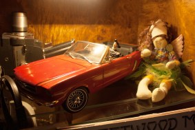 My Dad can't get rid of anything and brought me this car when he visited last. It's a replica of his own.
