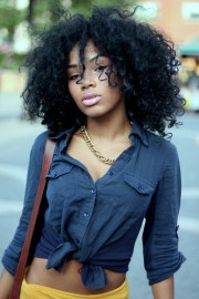 black natural hair inspirations