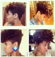 shaped & tapered natural hair cuts