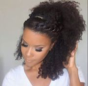 natural hairstyles prom