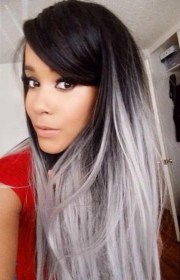 grey hair color combinations