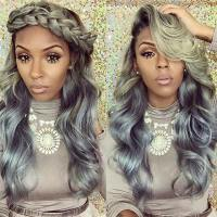 25 New Grey Hair Color Combinations For Black Women  The ...