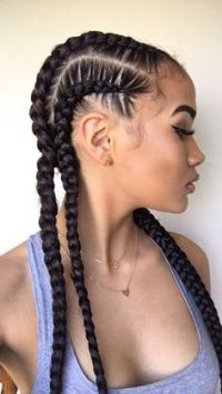 23 Braided Natural Hair Ideas for Summer  The Style News ...
