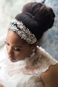 2017 Wedding Hairstyles For Natural Haired Brides  The ...