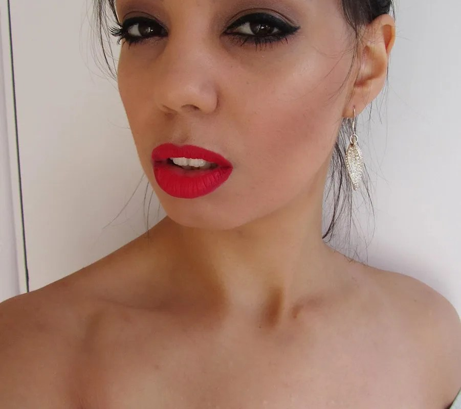 Makeup look: Sultry eyes and lips part 2