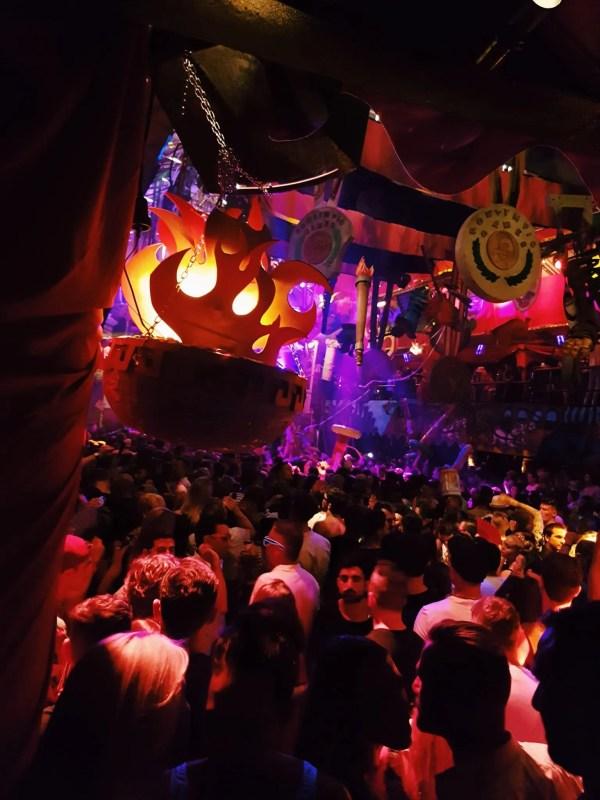 View of Amnesia Ibiza