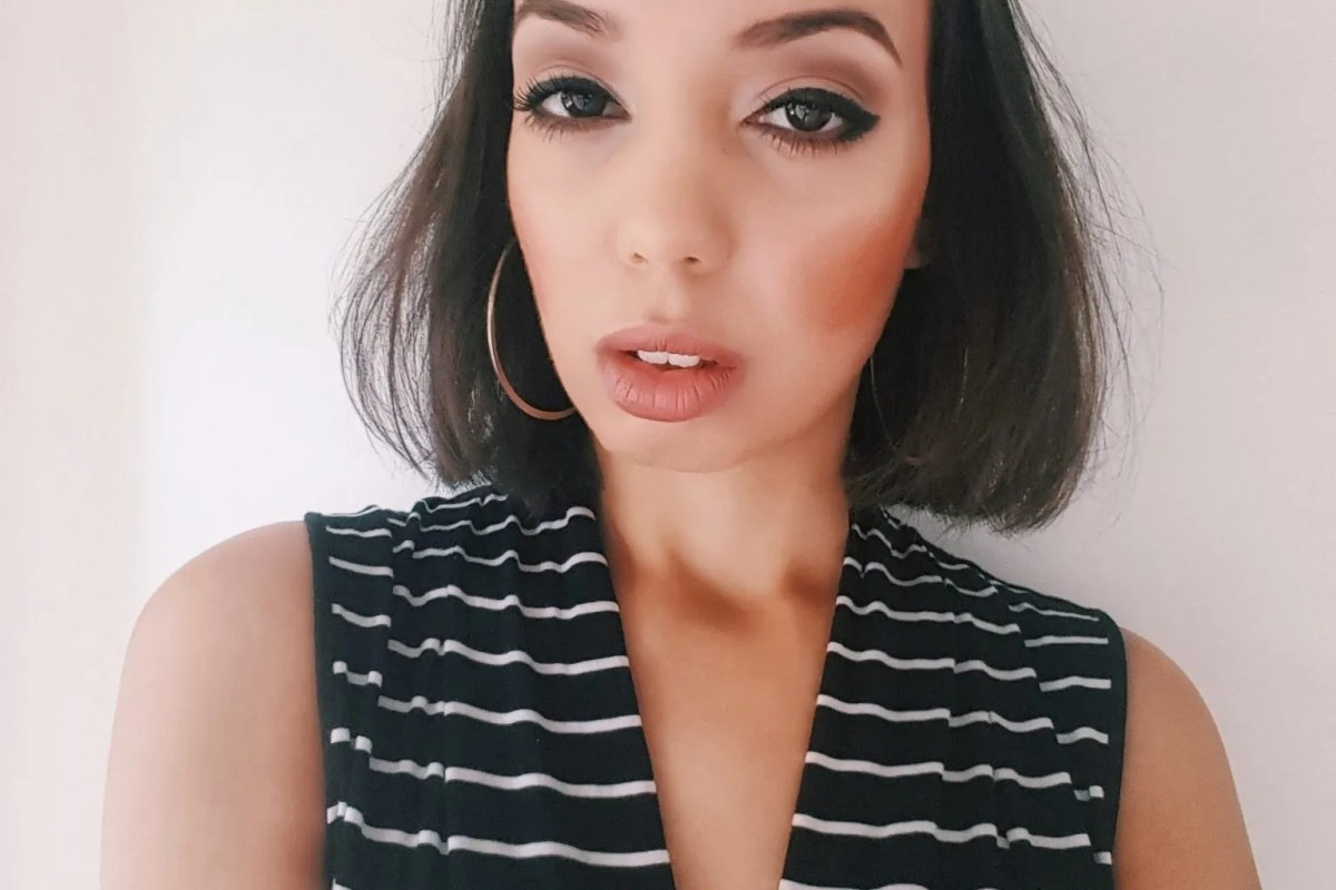 Smokey brown autumn makeup