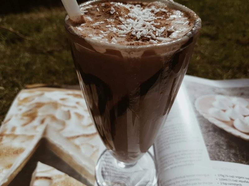 sugar-free drinks vegan chocolate milkshake