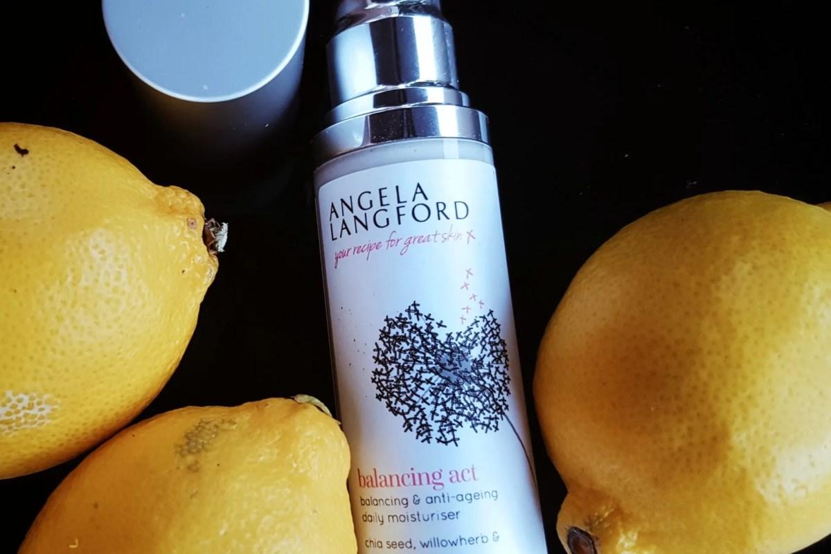 Vegan Skincare: Angela Langford balancing act