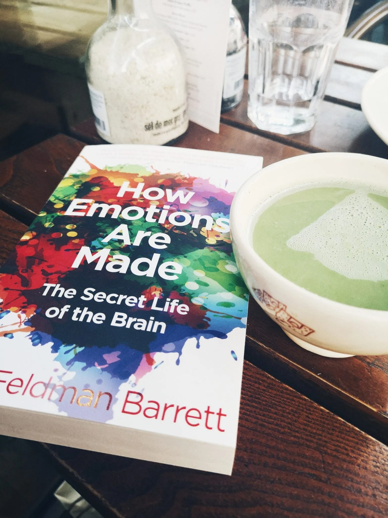 doing things alone - non fiction book and matcha tea - The Style of Laura Jane