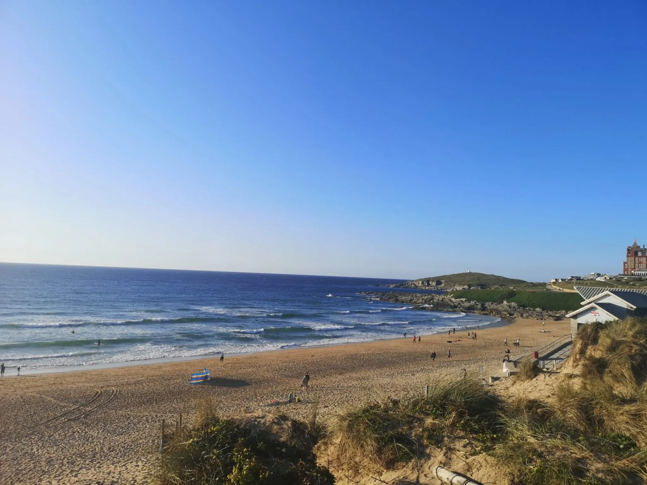 Why Holiday in the UK - Cornwall Beaches Fistral Beach in Newquay - The Style of Laura Jane