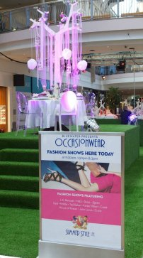 Bluewater Summer Style Live 2012 Stylist Assistant