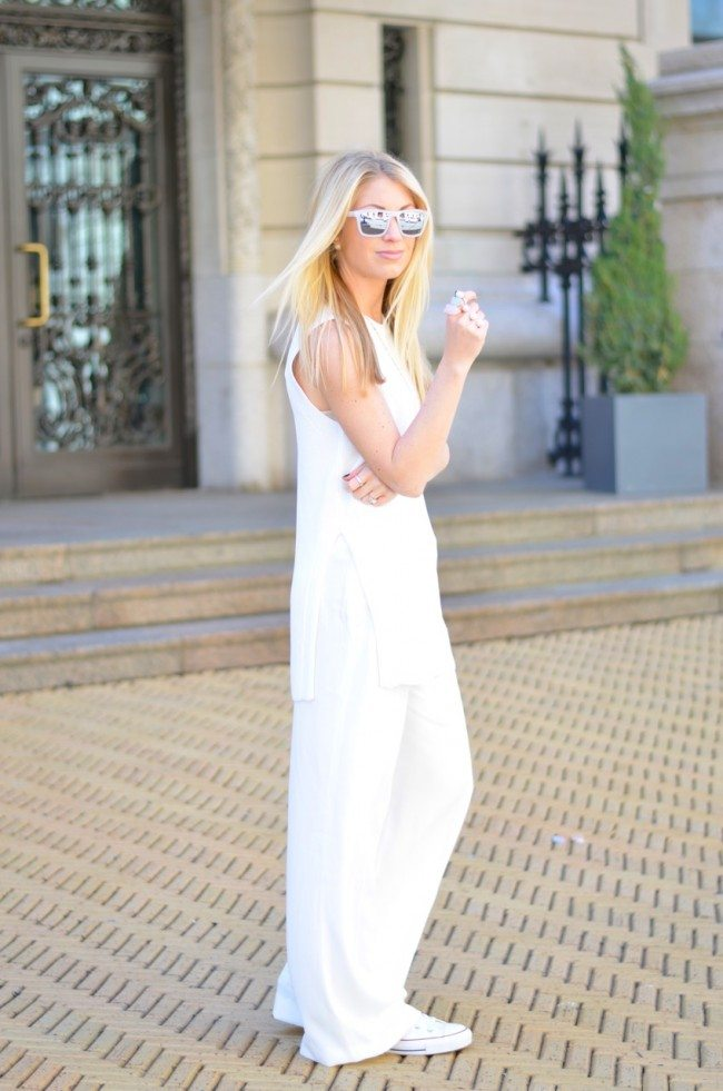 All white, layering // thestylesafari.com