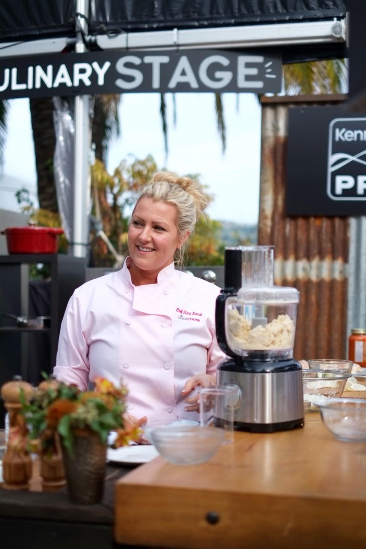napa valley film fest, chef Kari Karch Stella Artois tasting // thestylesafari.com