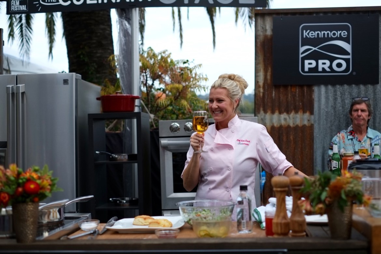 napa valley film festival, chef Kari Karch Stella Artois tasting // thestylesafari.com