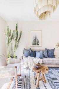 Interior Design Plan: Modern Bohemian Living Room