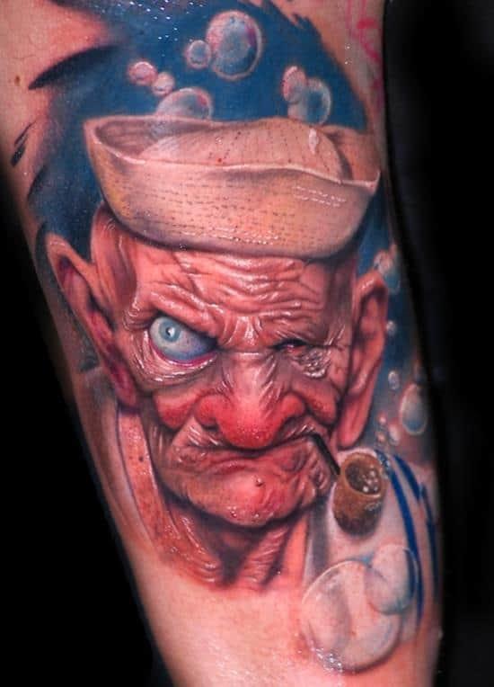 tattoo-3d-popeye