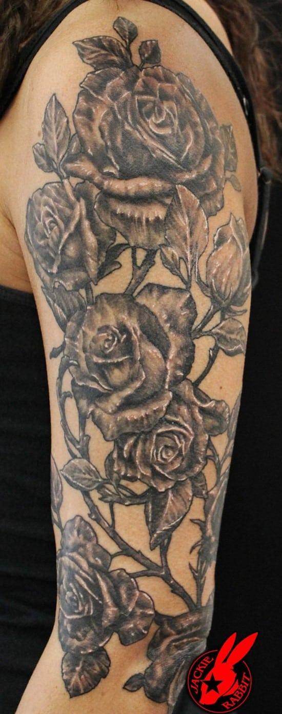 21-Rose-ArmTattoo