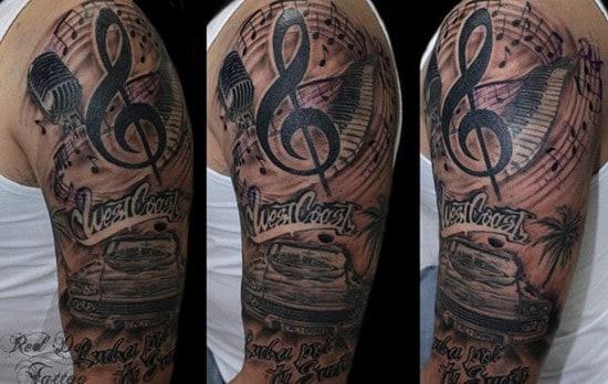38-WestCoast-Arm-Tattoo