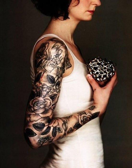 40-Rose-arm-tattoo
