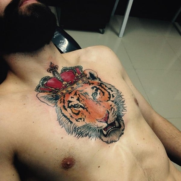 meaningful tiger tattoos
