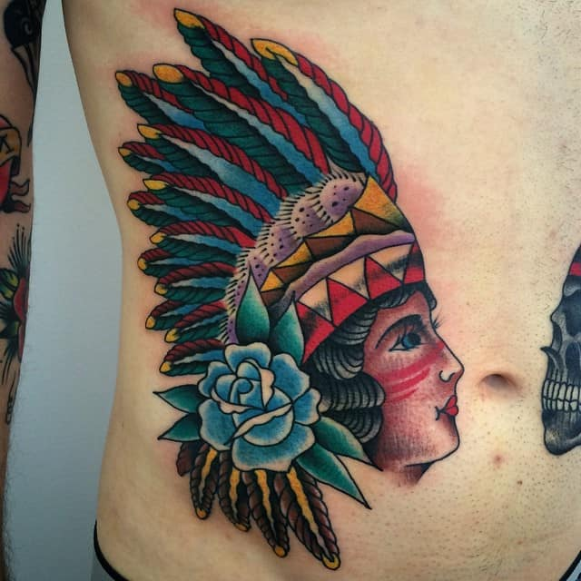 Female Stomach Tattoos To Cover Stretch Marks