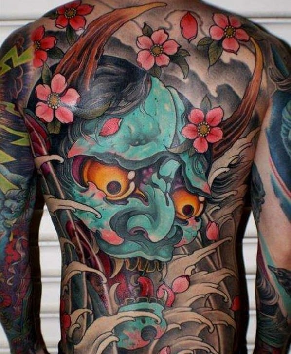 Japanese Oni Tattoo Meaning