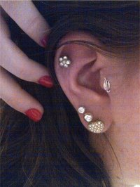 100 Tragus Piercing Ideas & Important FAQs (Ultimate Guide ...