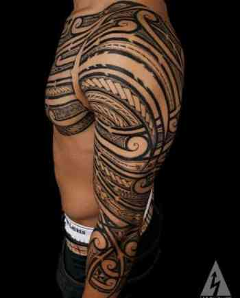 Meaning Simple Tribal Forearm Tattoos