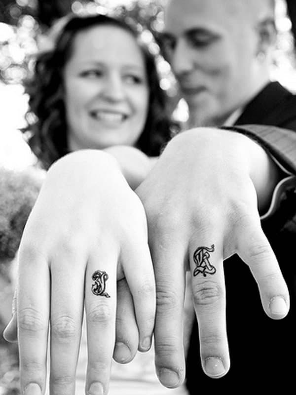 3d Wedding Ring Tattoos : wedding, tattoos, Amazing, Wedding, Tattoo, Design, Ideas, (March2021)
