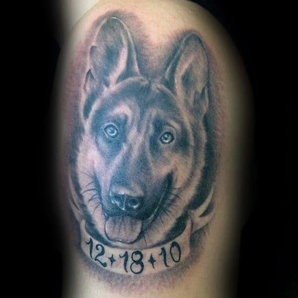 20 Remembrance Tattoos For Men German Ideas And Designs
