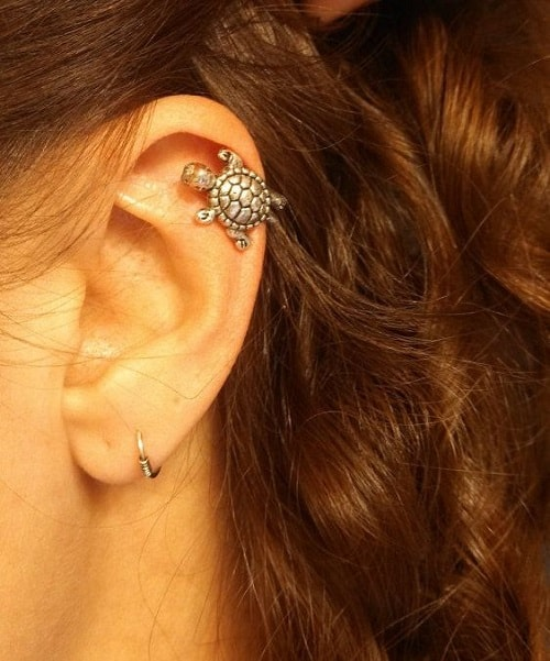 Turtle Helix Jewelry for Beach Bums