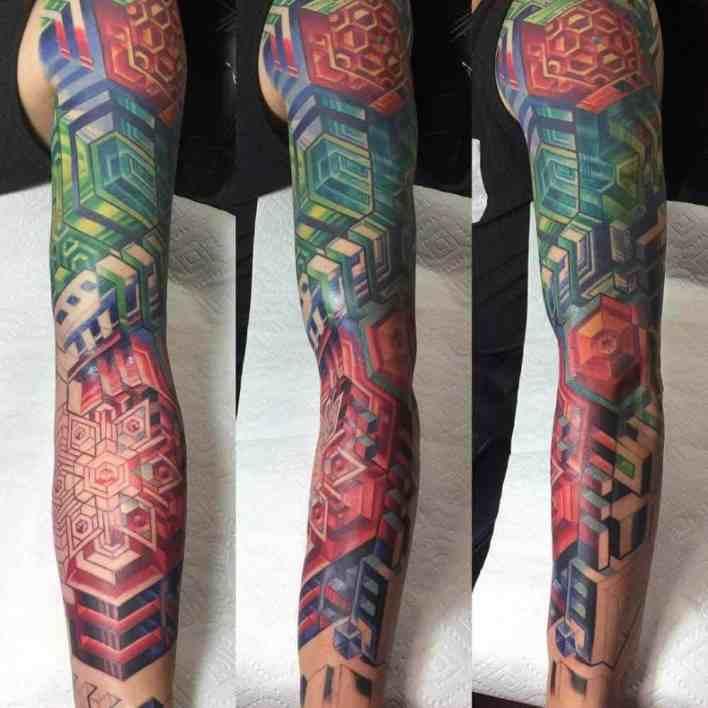 irezumi tattoo on arm