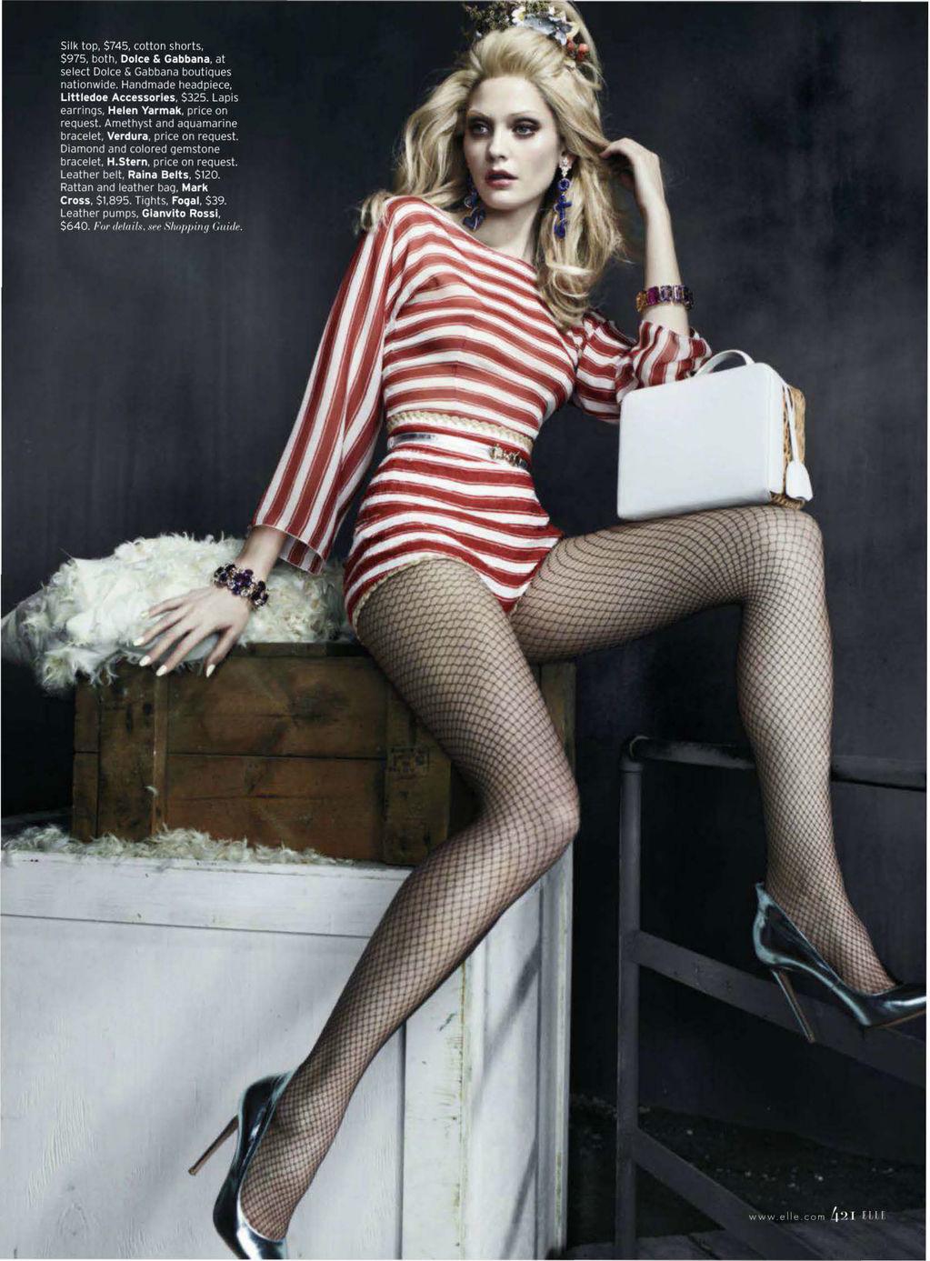 Elle  Paris Review  The Style Watcher